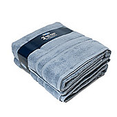 Silentnight 100% Cotton 525gsm Towels - 2 Piece Bath Sheet Set - Blue