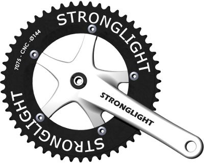 Stronglight Track 2000 Cranks: 170mm.