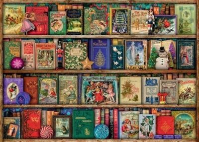 The Christmas Library - 1000pc Puzzle