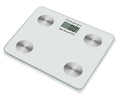Duronic BS301 Bathroom Scale and Body Fat Analyser