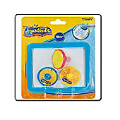 Aquadoodle 3 Stamper Pack And Tray