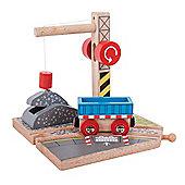 Bigjigs Rail Gravel Crane