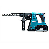 Makita BHR262RDE SDS Plus Rotary Hammer Drill 36V 2 x 2.6Ah Li-Ion