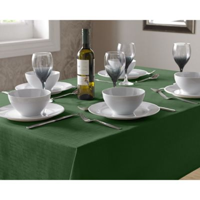 Select Round Tablecloth 90cm - Green
