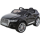 Licensed Audi Q7 4.2 TDI Quattro 2017 Model 12v Kids Electric Car Black