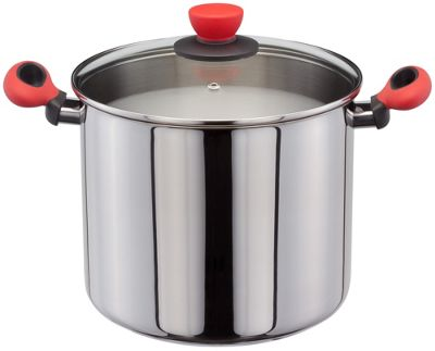 Judge Induction Ready Stainless Steel Stockpot 24cm 7.7 Litre