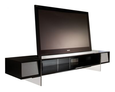 Alphason Yatai Series Black TV Stand For Up To 46 inch