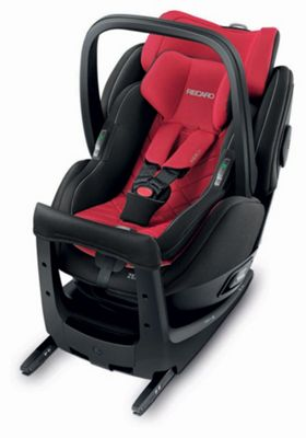 Recaro Zero.1 Elite i-Size Car Seat - Racing Red