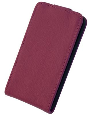 Tortoise™ Genuine Leather Flip Case iPhone 4/4S Pink