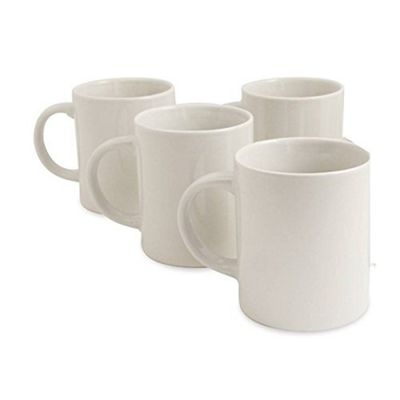 Sabichi 4 Piece Mug Set - White