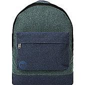 Mi-Pac Backpack - Herringbone Mix Green/Navy
