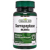 Natures Aid Serrapeptase 80,000iu (Entero-Coated) - 120 Tablets