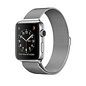Apple Series 2 (38mm) Watch with Stainless Steel Case and Silver Milanese Loop