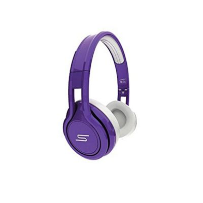 SMS Audio Street by 50 Cent Wired On Ear Headphones, Limited Edition (Purple)