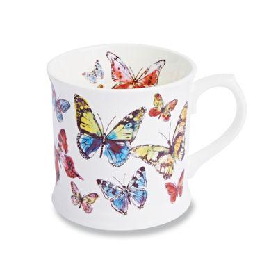 Cooksmart Butterfly Single China Mug