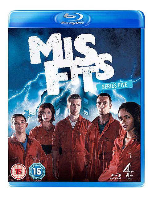 Misfits Series 5 - Bluray