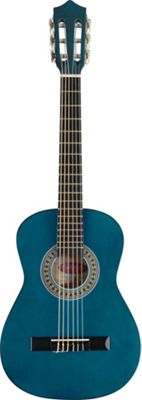 Rocket 1/2 Size Classical Spanish Guitar - Blue - with 6 Months Free Online Music Lessons