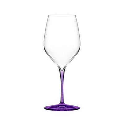 Italesse Vertical Medium Wine Glass Violet Set of 4 in a box