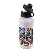 Marvel Comics Personalised Water Bottle White