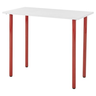 Esme Desk White/Red