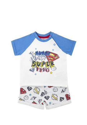 DC Comics Superman Top and Shorts Set Multi 6-9 months