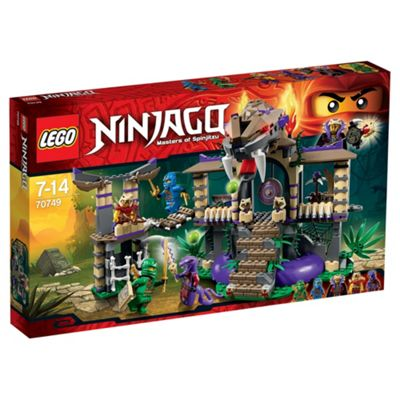 LEGO Ninjago Enter the Serpent 70749