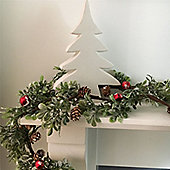 Cone Christmas Garland with Bells