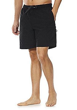 F&F Cargo Swim Shorts - Black
