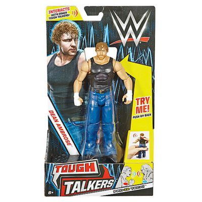 WWE 12cm Innovation Tough Talkers Action Figure - Dean Ambrose