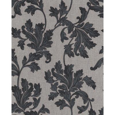 Graham & Brown SFC Acanthus Wallpaper - Grey