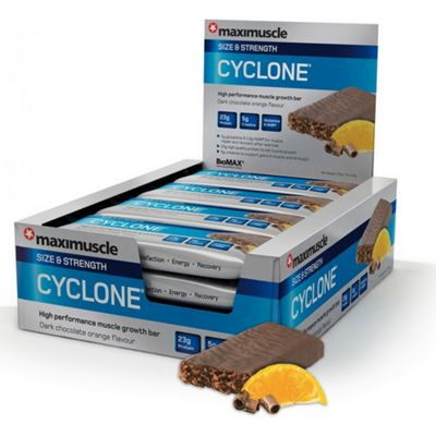 Cyclone Bar 12x60g Choc Orange