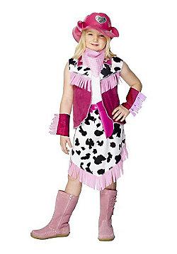 Child Rodeo Cowgirl Costume Medium