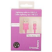 Urban Factory CID36UF 1m USB A Lightning Purple cable