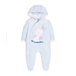 46dad96f8 My First Baby Newborn Boy s Pramsuit Size 3-6 months
