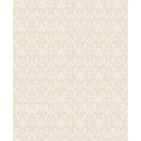 Superfresco Renaissance Damask Neutral Cream Shimmer Wallpaper