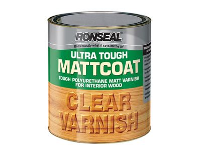 Ronseal Ultra Tough Internal Clear Mattcoat Varnish 250ml