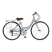 "19"" Viking Hawkshead 24-Speed Alloy Ladies' Bike, Blue"