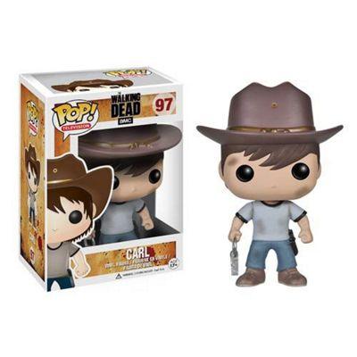 POP! Walking Dead Carl Grimes Vinyl Figure - Action Figures