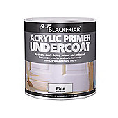 Blackfriar Quick Drying Acrylic Primer Undercoat Grey 500ml