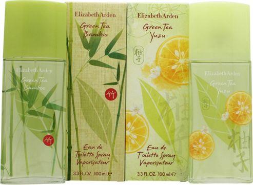 Elizabeth Arden Green Tea Gift Set 100ml EDT Spray Green Tea Bamboo + 100ml EDT Spray