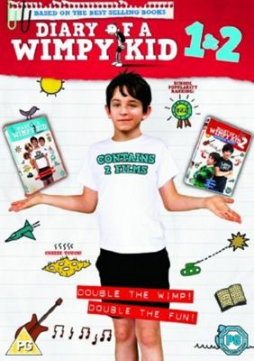 Diary Of A Wimpy Kid - 1 And 2 (DVD Boxset)