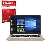 "ASUS Vivobook S510UQ-BQ178T 15.6"" Gaming Laptop Intel Core i5-7200U 8GB 256GB SSD Windows 10 with Internet Security"