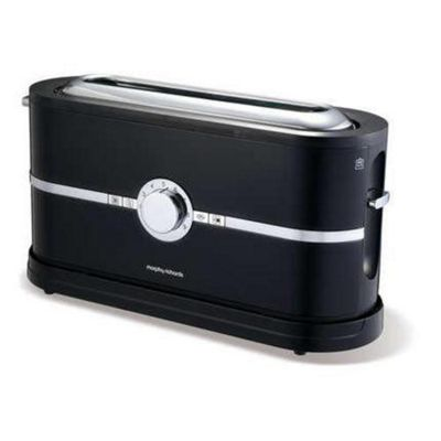 Morphy Richards 44238 Latitude 2-Slice Toaster - Black
