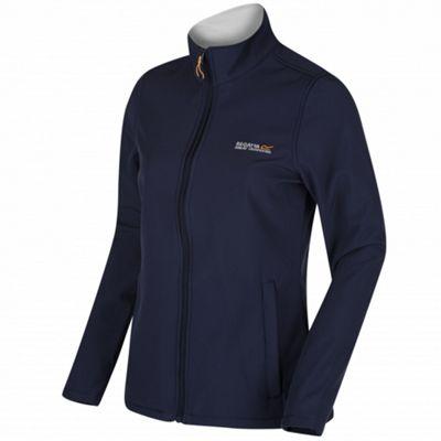 Regatta Ladies Connie III Softshell Jacket Navy/Polar Bear 12