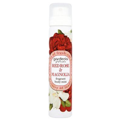 Gardenia of London Red Rose & Magnolia Fragrant Body Mist