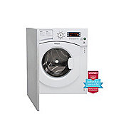 Hotpoint Ultima Integrated BHWMD 732 7kg, 1300 rpm Washing Machine - White