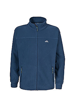 Trespass Mens Bernal Full Zip Fleece Jacket - Navy