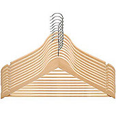 50 Pack Wooden Coat/Clothes Hangers