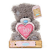 """7"""" Mum Padded Heart Me to You Bear"""