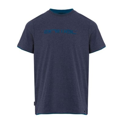 Animal Mens Loan Deluxe T-Shirt Dark Navy L